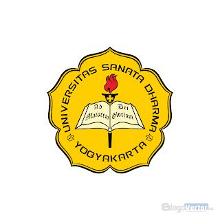 Universitas Sanata Dharma Logo vector (.cdr)