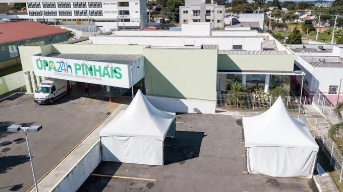 Prefeitura de Pinhais vai dar gratificação de R$ 400 a profissionais da saúde no combate ao Covid-19