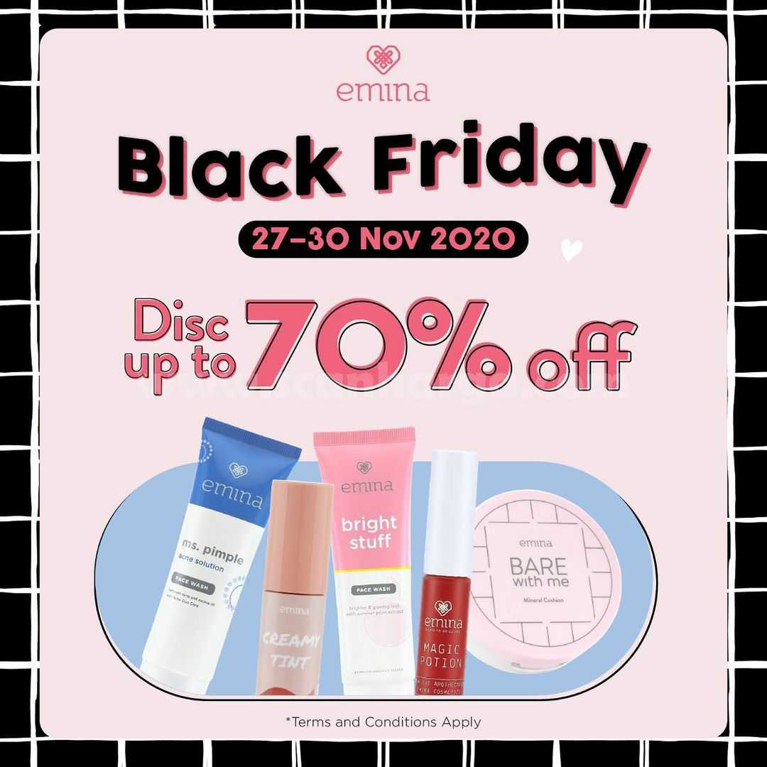 Emina Promo Black Friday disc up to 70% OFF*