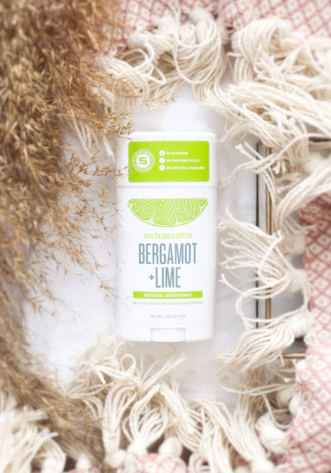 Dezodorant w sztyfcie Schmidt's Bergamot + Lime - moja opinia