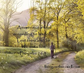 Proverbs 26:4