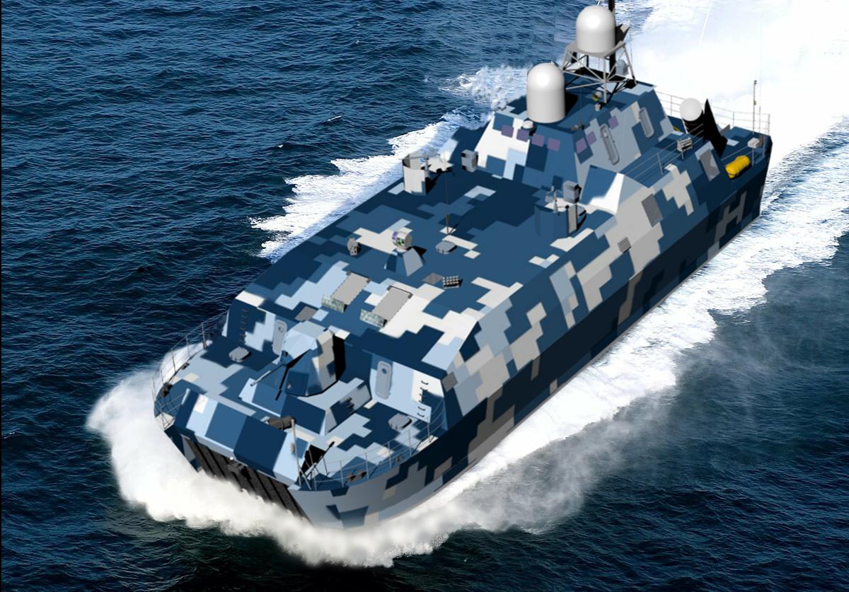 Ракетний катер Богомол на Зброя та безпека 2021