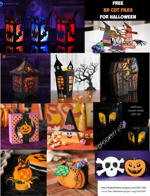 Fields Of Heather: Cricut - Free Halloween Projects & SVG FIles