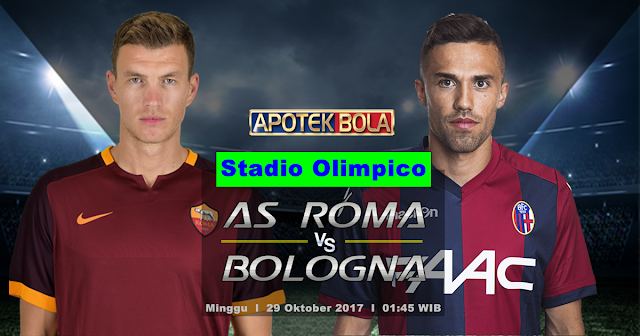 AS Roma vs Bologna 29 Oktober 2017