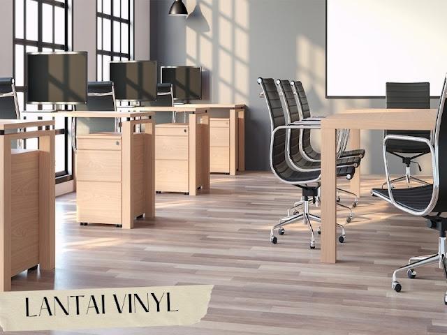 lantai vinyl kantor