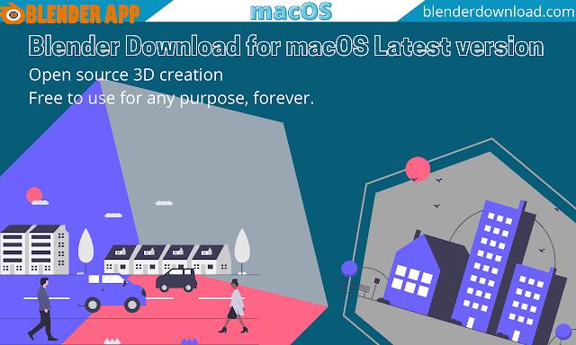 Blender Download for macOS Latest version