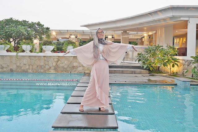 OOTD hijab feminin
