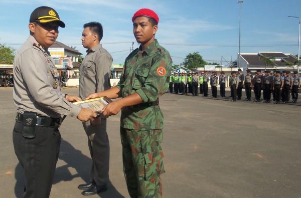 Jaga Gereja, Kokam Muhammadiyah Terima Penghargaan dari Polres