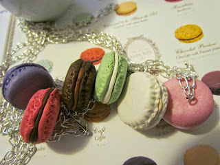 Collane Macarons in Fimo tanti gusti
