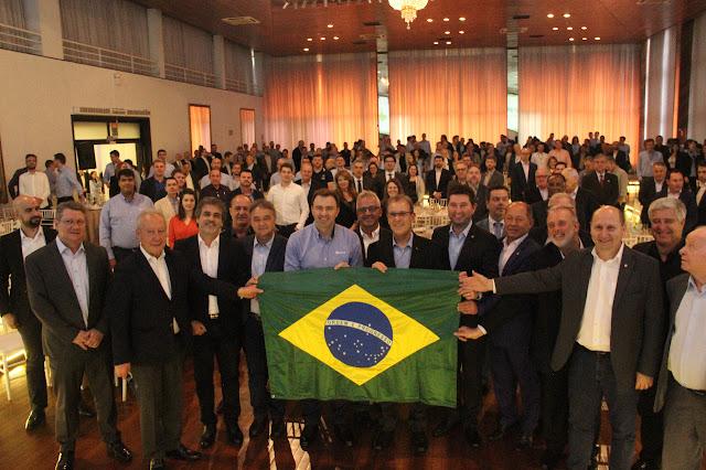 Representando Rondônia, Deputado Federal Coronel Chrisóstomo embarca para Passo Fundo (RS), e participa de evento referente ao biodiesel no Brasil
