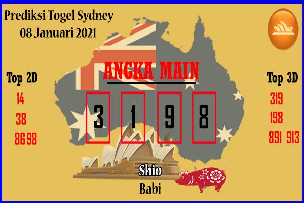 Syair Sydney Jumat 8 Januari 2021