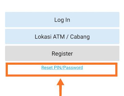 PIN Mobile Banking blokir