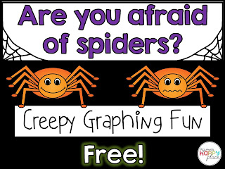 Spider Graphing Freebie