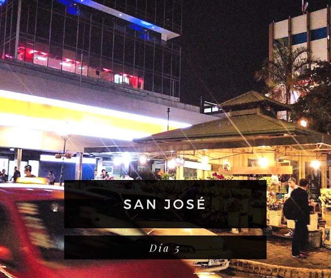 San José, Un Viaje No Programado (día 5)