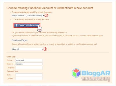 Cara Postingan Blog Terkirim Otomatis ke Sosial Media Facebook