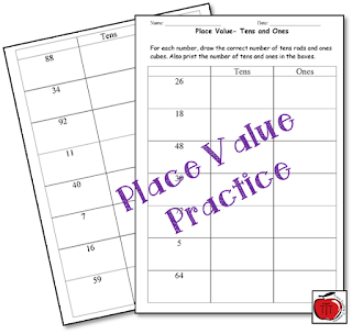 https://www.teacherspayteachers.com/Product/Tens-and-Ones-Place-Value-92929