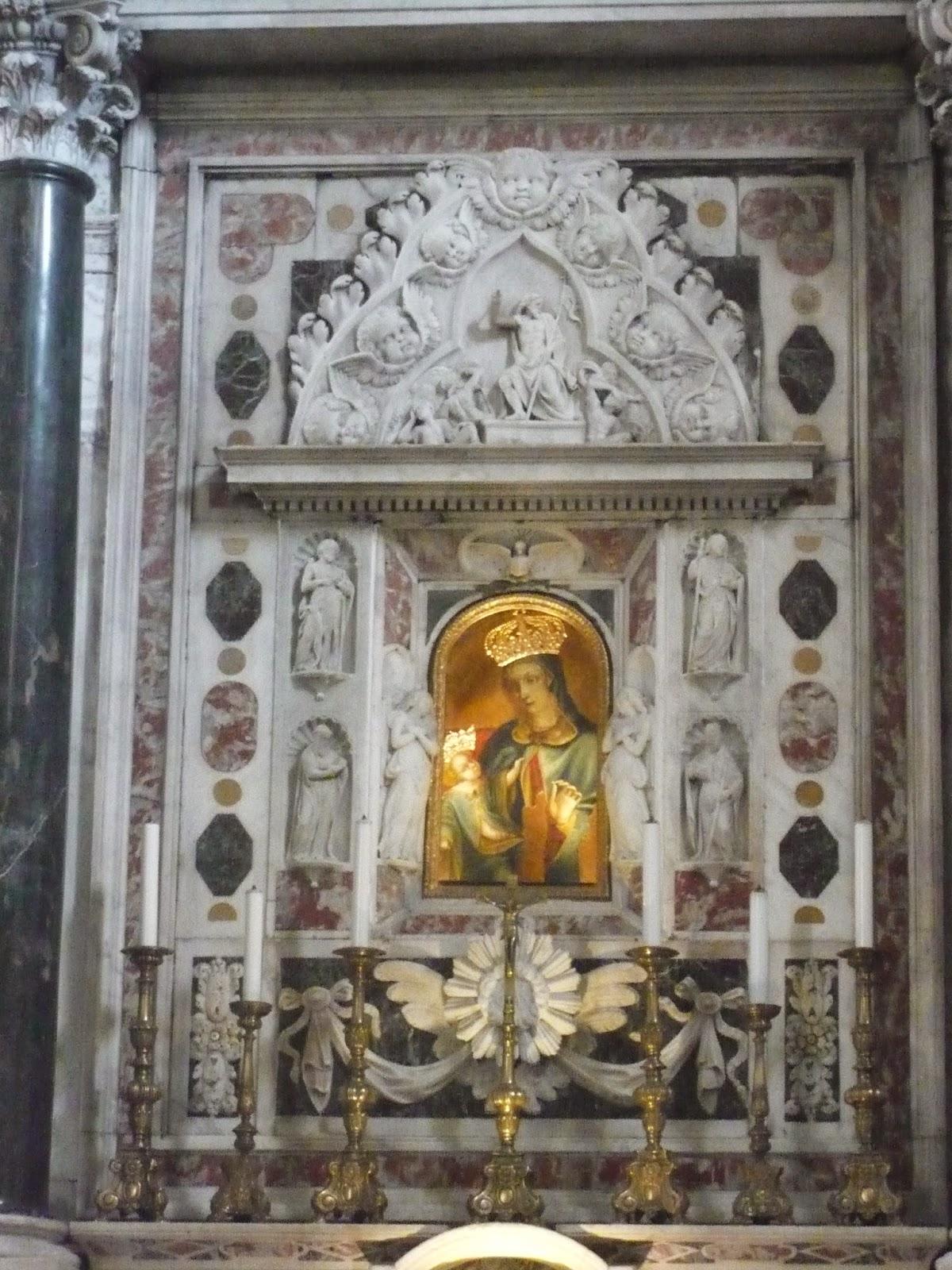 altare nel Santuario delle Grazie