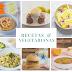 Recetas vegetarianas para una dieta sana