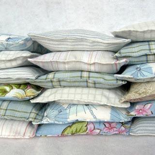 refabulous Connie Crawley, sewist, designer, artist, lavender pillow, dryer sachet