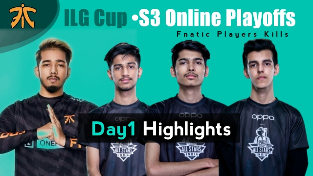 ILG Cup S3 Online Playoffs | PUBG MOBILE
