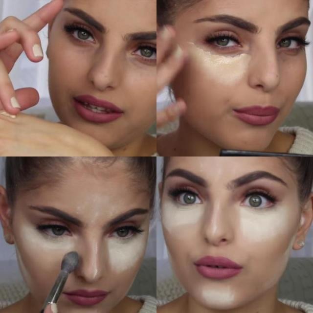 como fijar el maquillaje