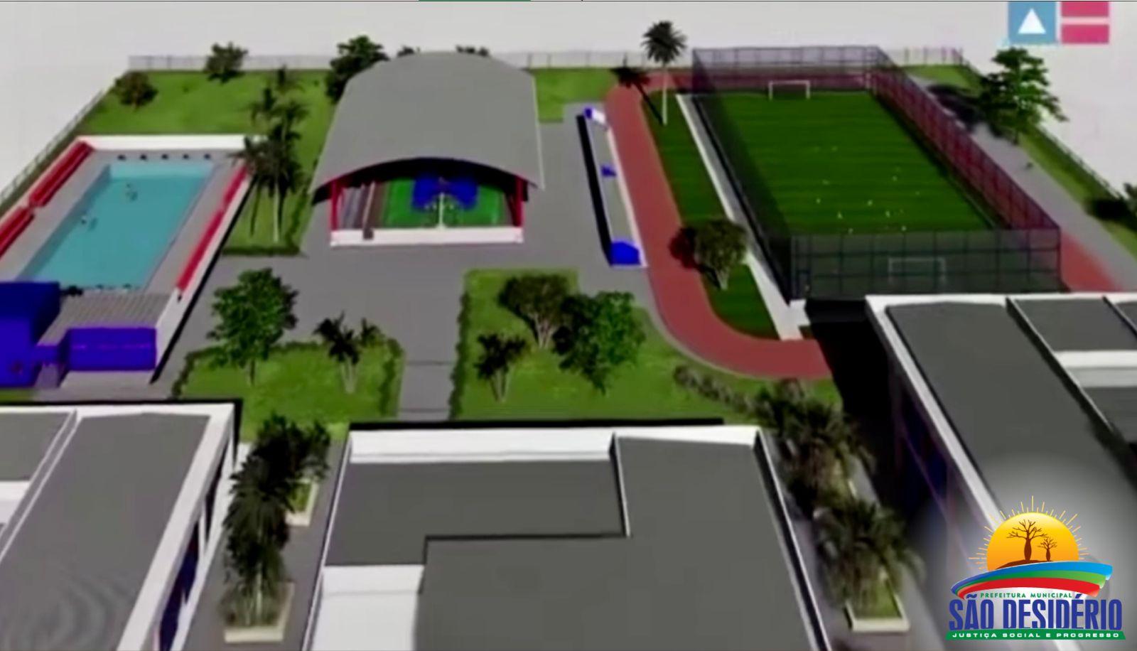 Escola de Ensino Médio em tempo integral será construída em São Desidério