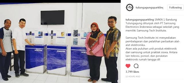SMKN 1 Bandung Tulungagung Menjadi Samsung Tech Institute