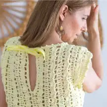Blusa Rayos de Sol a Crochet