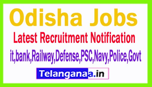Latest Odisha Government Job Notifications