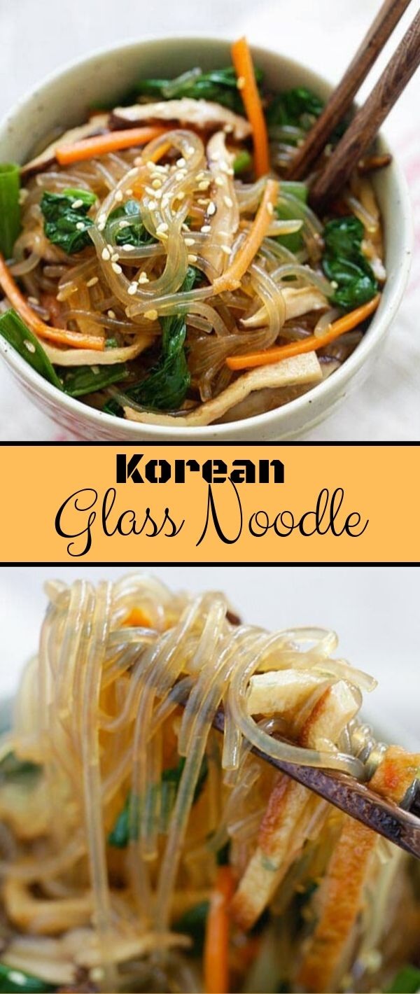 Korean Glass Noodle #Korean #Glass #Noodle Healthy Recipes Easy, Healthy Recipes Dinner, Healthy Recipes Best, Healthy Recipes On A Budget,