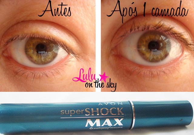 Máscara para cílios Avon Super Shock Max: eu testei - blog luluonthesky