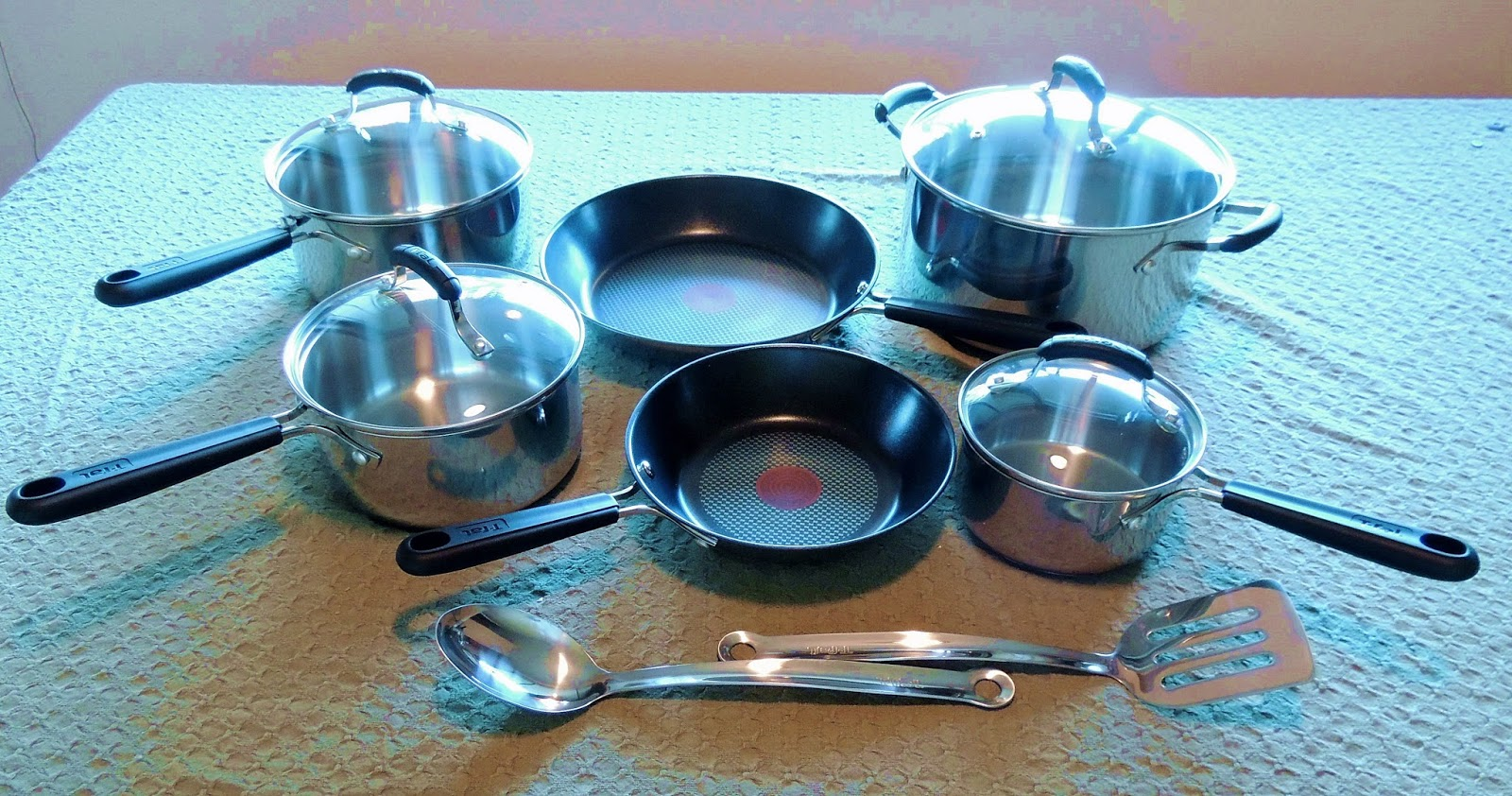 T-fal Stainless Steal and Non-Stick Cookware Review | Bobbi\'s Kozy ...