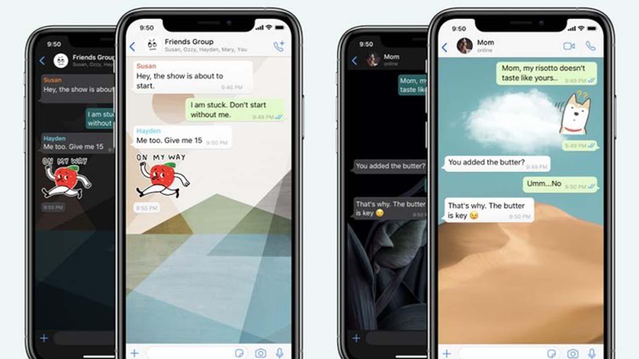Cara Membuat Background Berbeda pada Setiap Contact WhatsApp