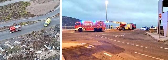 muere una persona al caer por una ladera en Las Palmas de Gran Canaria