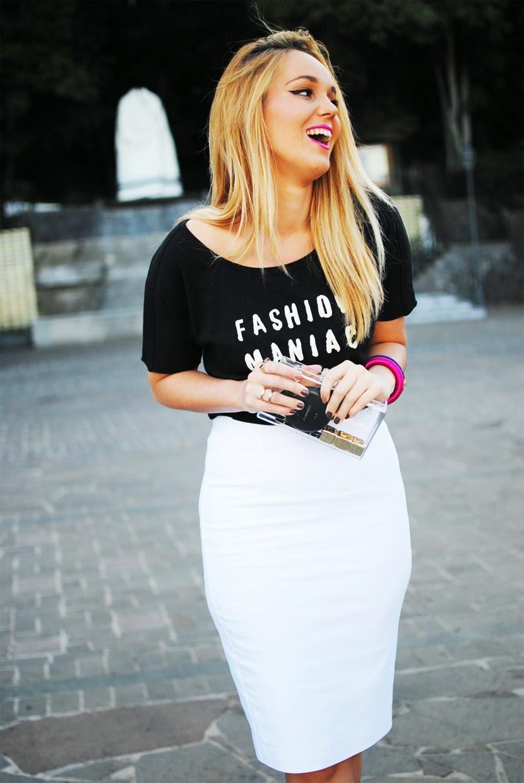 fashion maniac, maharani, falda midi, nery hdez