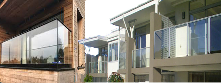 Glass Balcony Balustrades Are A Stylish Solution For The Modern Home