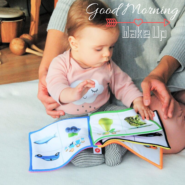 Cute learning Baby Good Morning Images