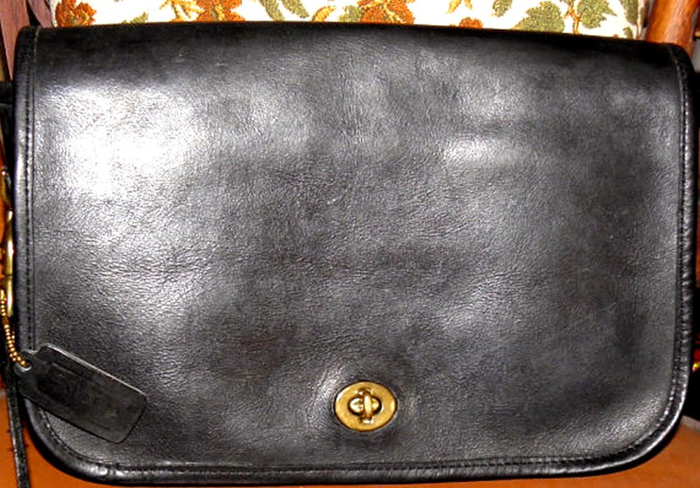 Black Vintage Coach Purse