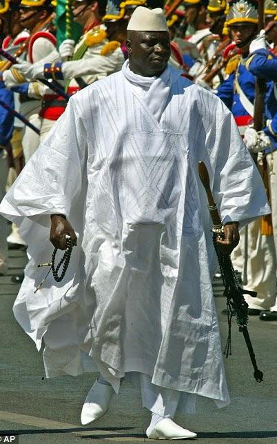 yahya jammeh fetish stick