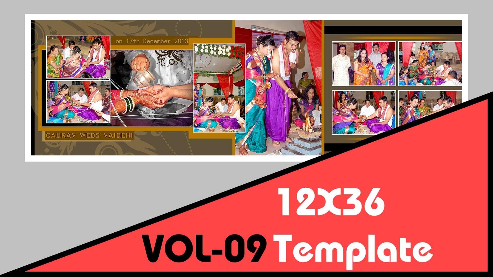 Indian Wedding 12x36 Dm Psd Template Vol 09 Free Download