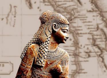 Resultado de imagem para Cleópatra + arqueologia