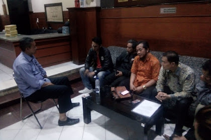 Ketua DPD HAPI, Melaporkan PT. KAI Ke Polrestabes Bandung