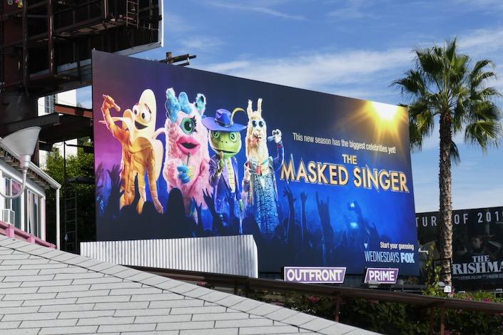 Masked Singer season 3 USA billboard