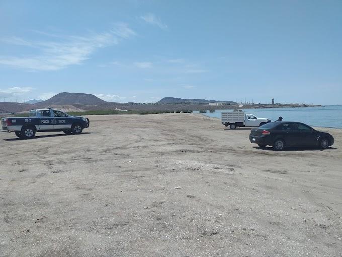 ¡En La Paz playas cerradas otra semana más!