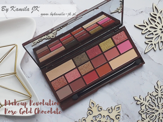 Makeup Revolution MUR czekoladka Chocolate Rose Gold