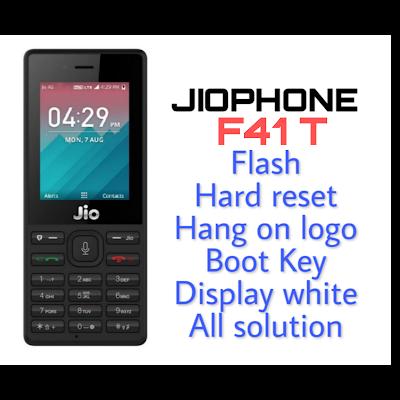 LYF Jio F41T Working Flash File