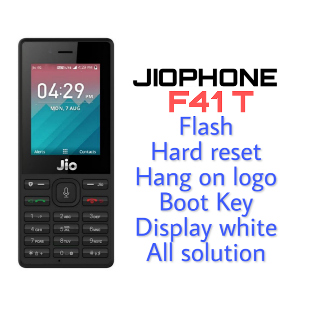 LYF Jio F41T Working Flash File (Frimware) And Tool Download