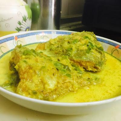 ikan talapia masak lemak cili padi yang sedap