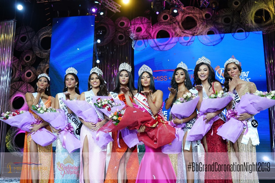 LIST OF WINNERS: Bb Pilipinas 2019 Coronation Night