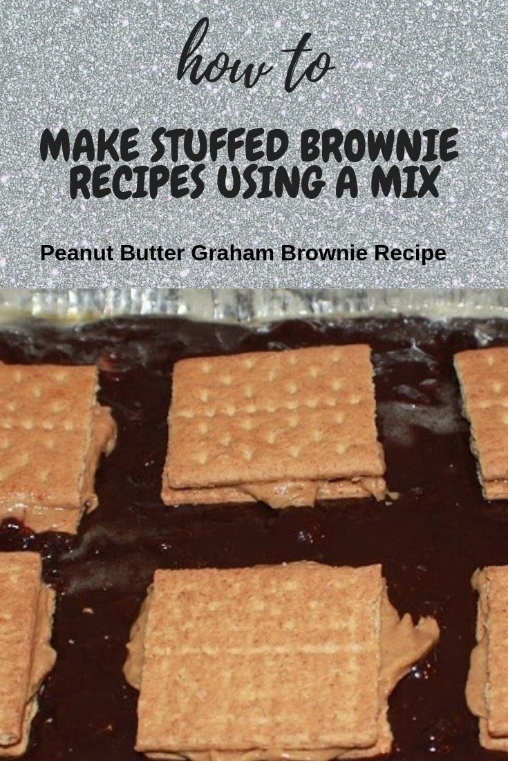 this is how to make stuffed brownies using a mix pin for later